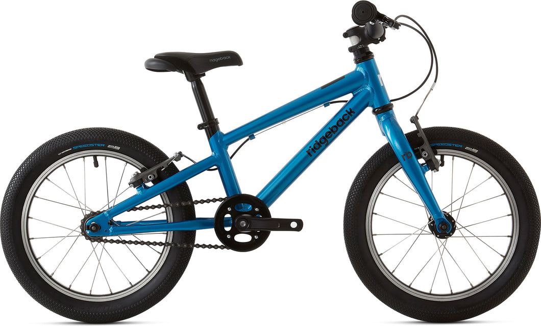 RIDGEBACK Dimension 16-inch Lightweight Junior Bicycle (Blue)