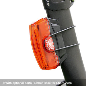 Cateye Rapid X3 LED Rechargeable Rear Light TL-LD720-R