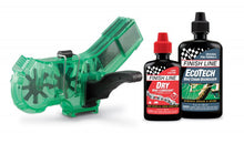 Load image into Gallery viewer, Finish Line Pro Bike Chain Cleaner Kit with Degreaser and Dry Lubricant