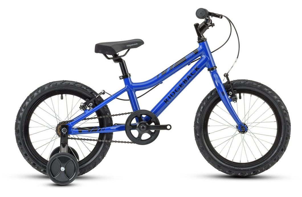 Ridgeback MX16 16 inch Junior Bicycle (Blue)