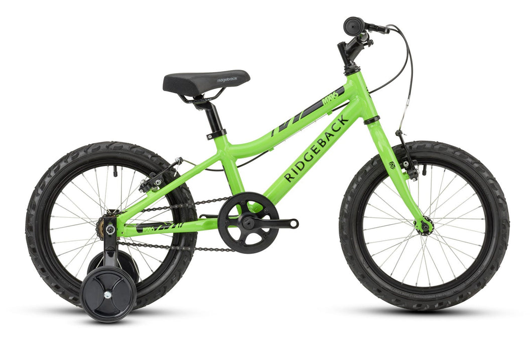Ridgeback MX16 16 inch Junior Bicycle (Green)