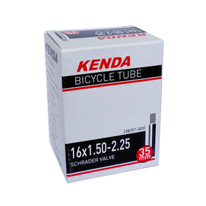 Kenda Bicycle Tire Inner Tube 16 inch 1.50/2.25