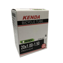 "Load image into Gallery viewer, Kenda Tire Inner Tube 20 inch 1.00-1.50"" Presta Valve"