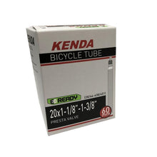 Load image into Gallery viewer, Kenda Tire Inner Tube 20 inch 1-1/8 to 1-3/8 FV Presta Valve ETRTO 451