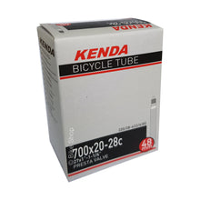 Load image into Gallery viewer, Kenda Bicycle Tire Inner Tube 700c 20/28mm Presta Valve