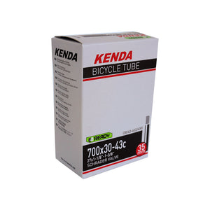 Kenda Bicycle Tire Inner Tube 700c 30/43mm Schrader Valve