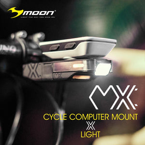 Moon MX Front Light with Integrated Computer Mount