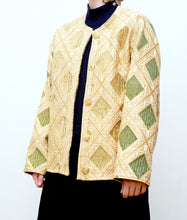 Load image into Gallery viewer, Reversible quilted jacket