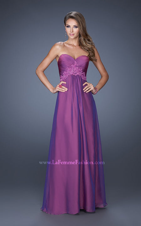 La Femme Bridesmaid Dress Style 19837