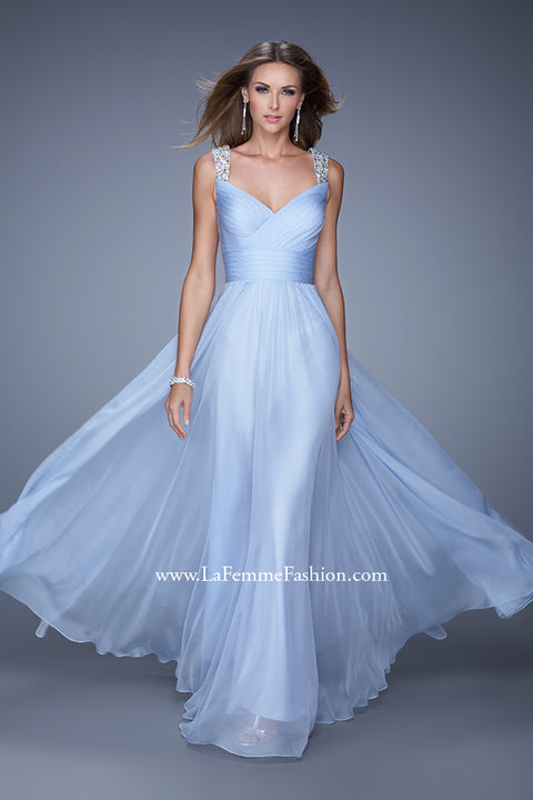 La Femme Bridesmaid Dress Style 20448