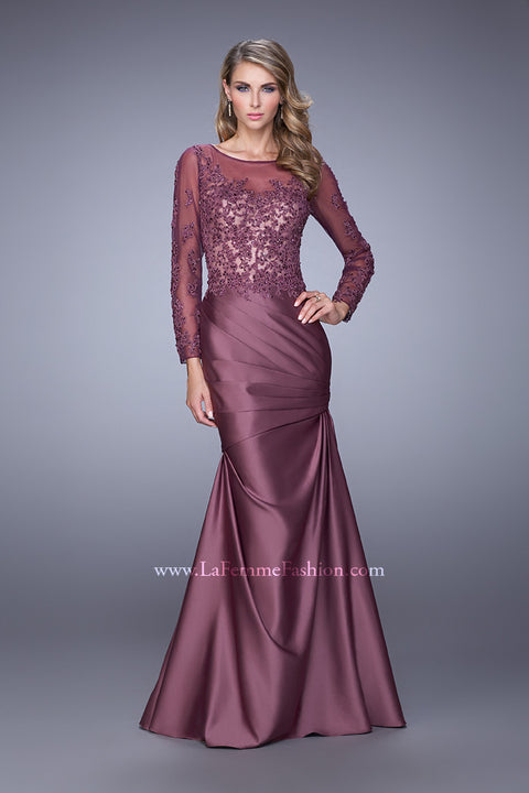 La Femme Mother of the Bride Dress Style 21708