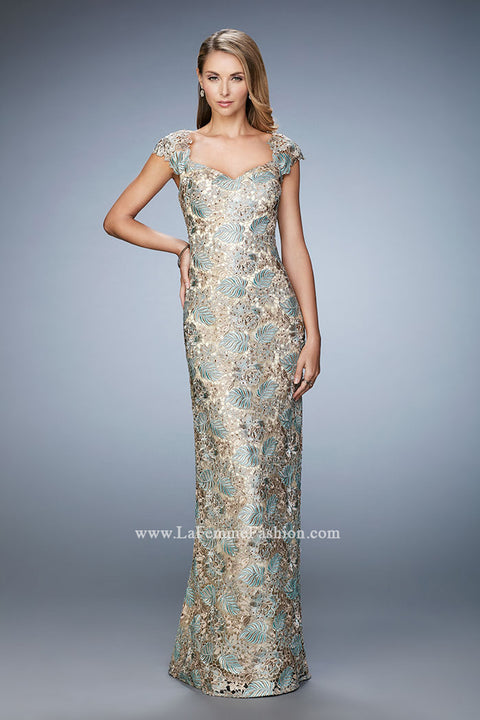 La Femme Mother of the Bride Dress Style 22984