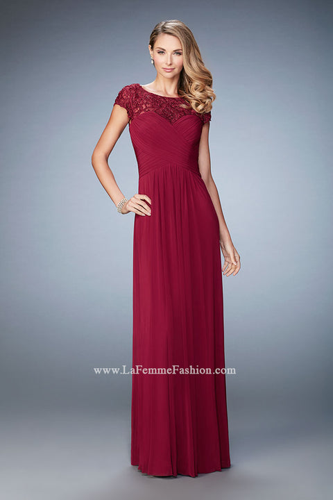 La Femme Mother of the Bride Dress Style 23077