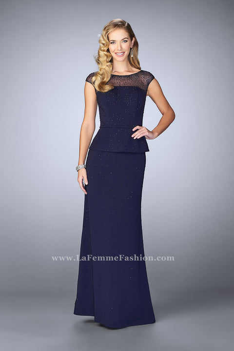 La Femme Mother of the Bride Dress Style 23112