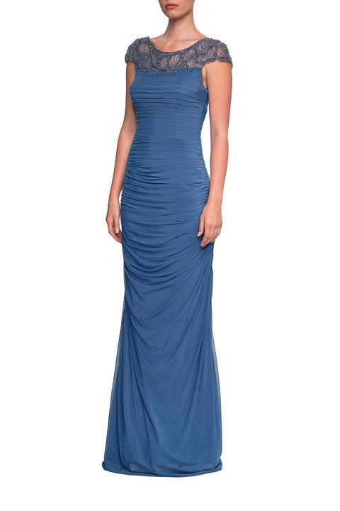 La Femme Mother of the Bride Dress Style 23215