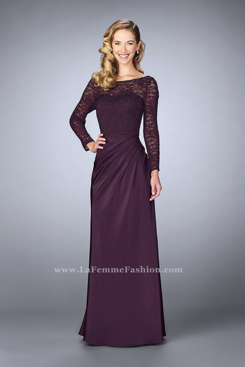 La Femme Mother of the Bride Dress Style 23435