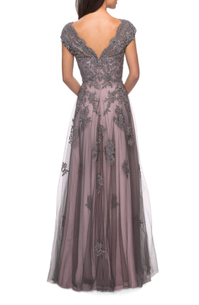 La Femme Mother of the Bride Dress Style 23449