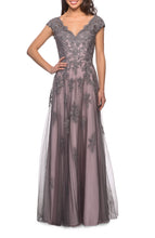 Load image into Gallery viewer, La Femme Mother of the Bride Dress Style 23449