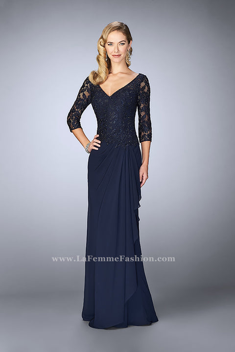 La Femme Mother of the Bride Dress Style 24857