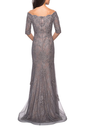 La Femme Mother of the Bride Dress Style 24866