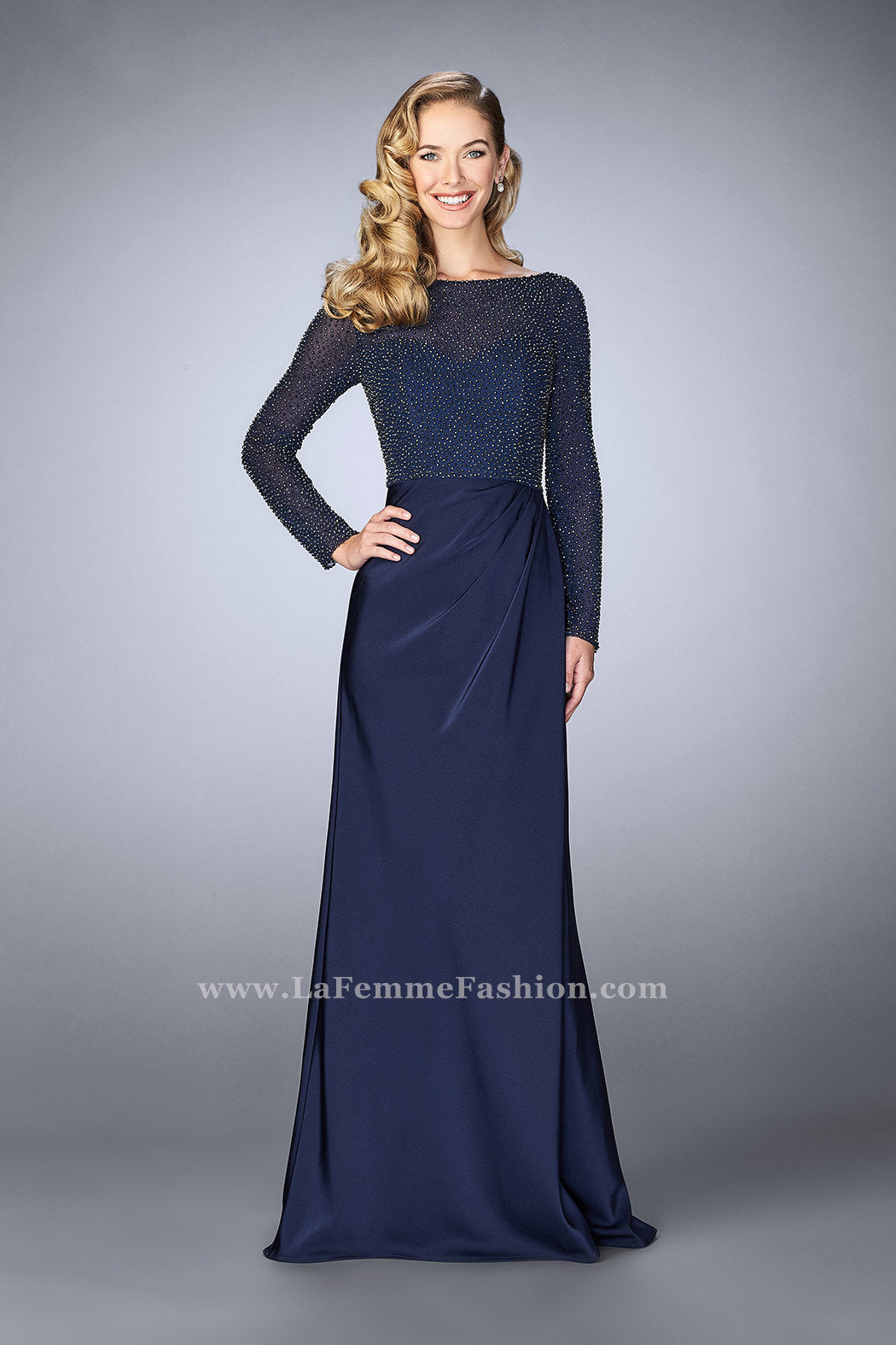 La Femme Mother of the Bride Dress Style 24895