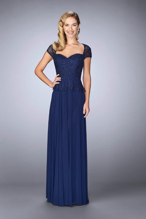 La Femme Mother of the Bride Dress Style 24915