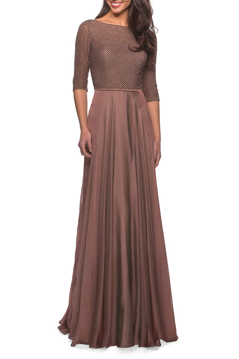 La Femme Mother of the Bride Dress Style 25011