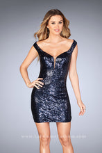 Load image into Gallery viewer, La Femme  Dress Style 25085