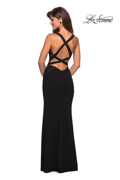 La Femme Prom Gown 27538