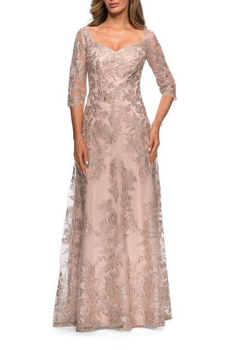 La Femme Mother of the Bride Style 28053