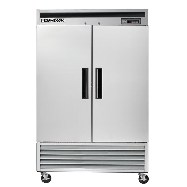 MCF-49FD Reach-In Freezer, Double Door, Bottom Mount