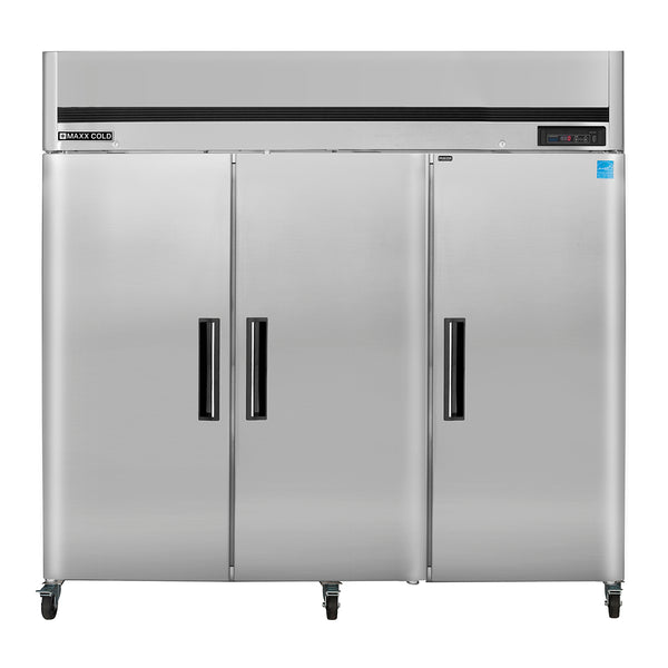 MCFT-72FDHC Reach-In Freezer, Triple Door, Top Mount