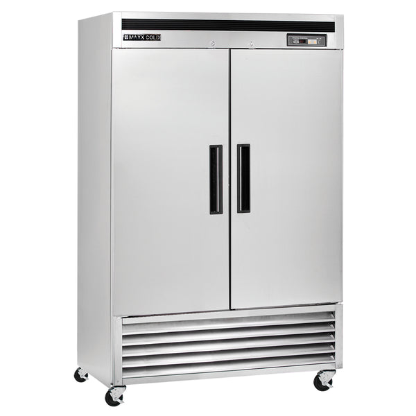 MCR-49FDHC Reach-In Refrigerator, Double Door, Bottom Mount