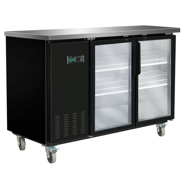 MXBB60GHC Back Bar Coolers, Glass Door