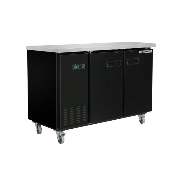 MXBB60HC Back Bar Coolers, Solid Door