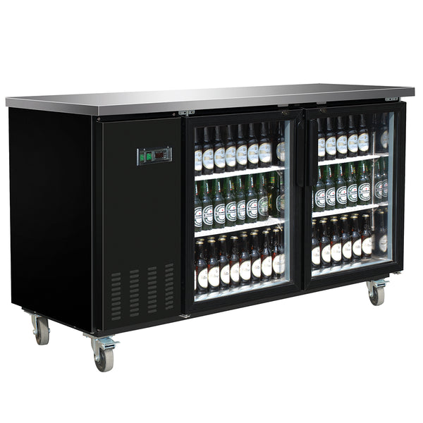 MXBB70GHC Back Bar Coolers, Glass Door