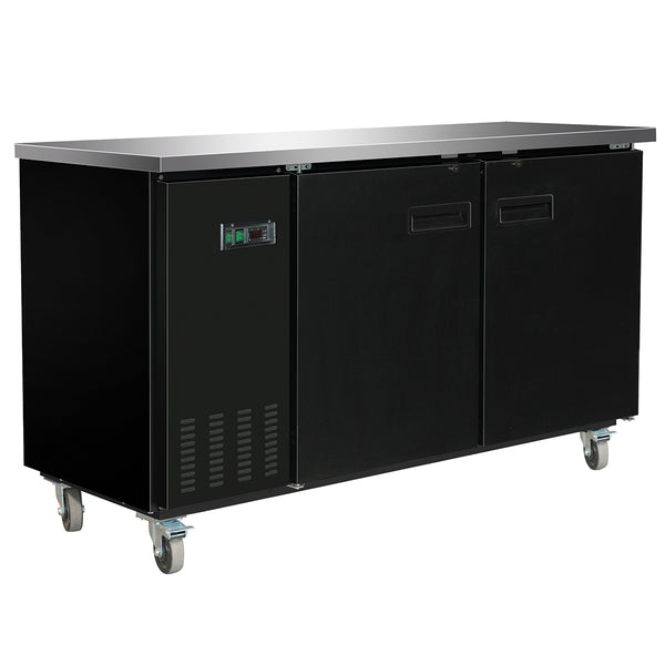 MXBB70 Back Bar Coolers, Solid Door