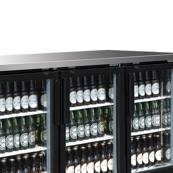 MXBB90GHC Back Bar Coolers, Glass Door