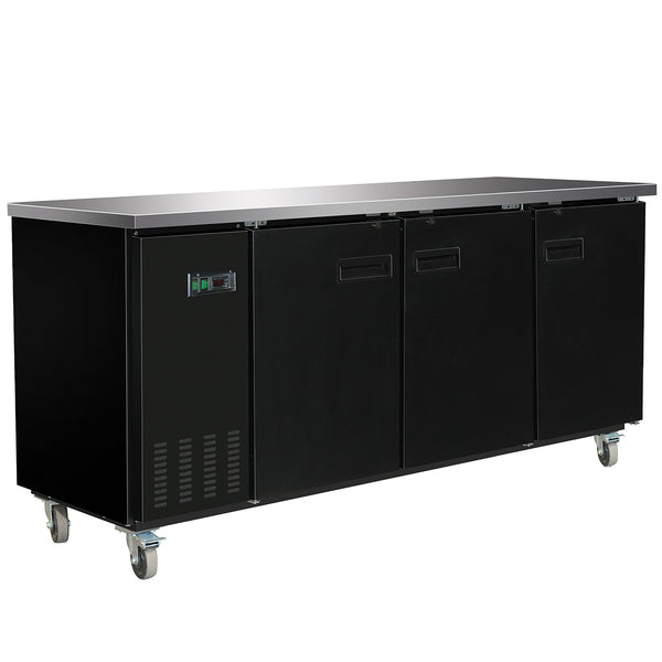 MXBB90 Back Bar Coolers, Solid Door