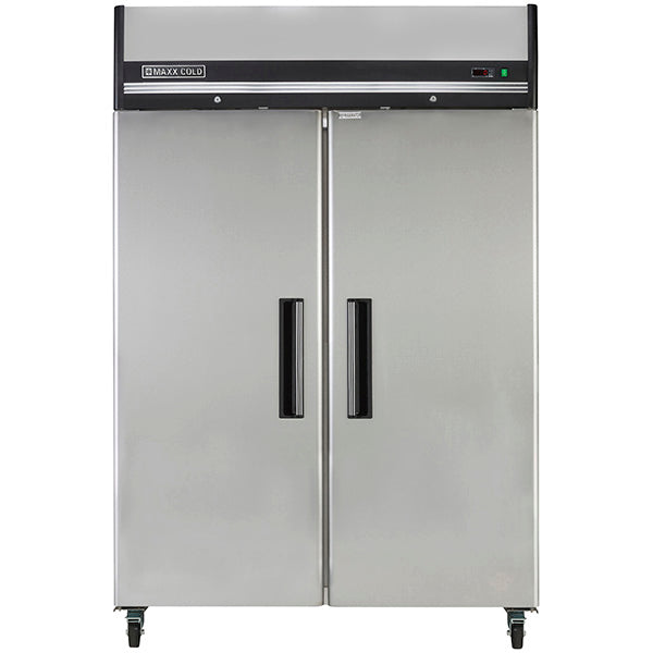 MXCF-49FD Reach-In Freezer, Double Door, Top Mount