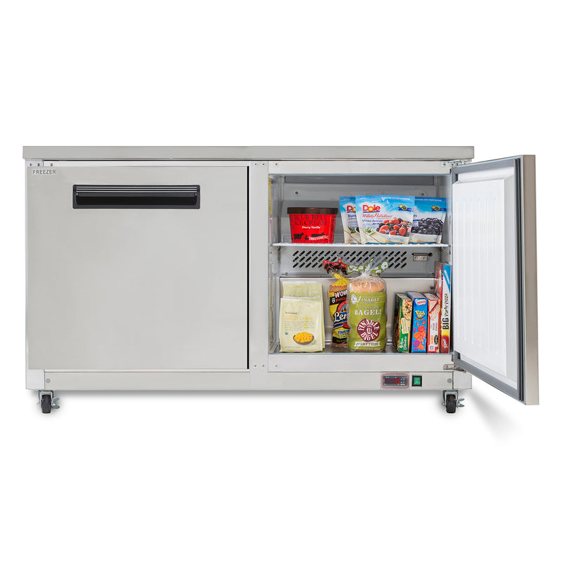 MXCF60UHC Undercounter Freezer, Double Door