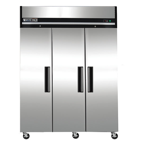 MXCF-72FD Reach-In Freezer, Triple Door, Top Mount