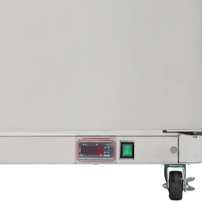 MXCF72UHC Undercounter Freezer, Triple Door