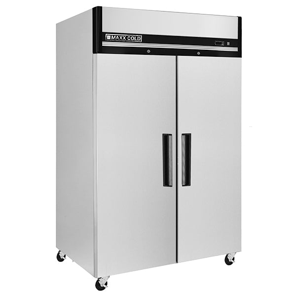 MXCR-49FDHC Reach-in Refrigerator, Double Door, Top Mount