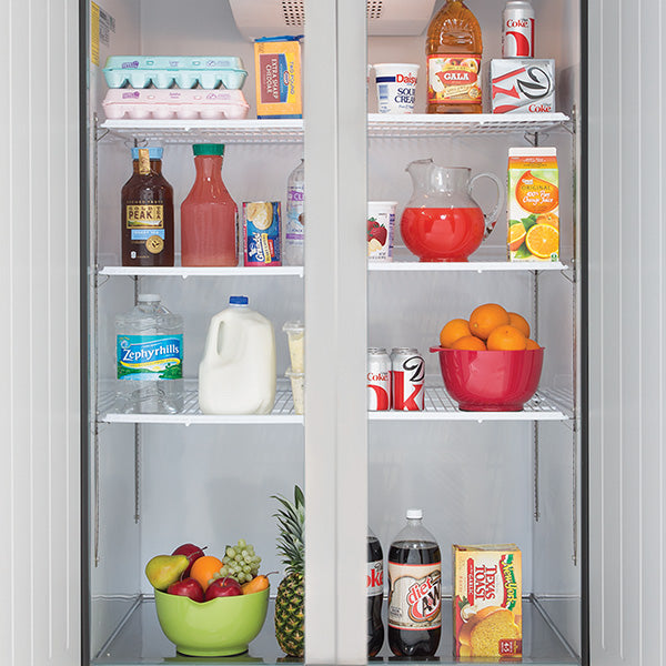 MXCR-72FDHC Reach-in Refrigerator, Triple Door, Top Mount