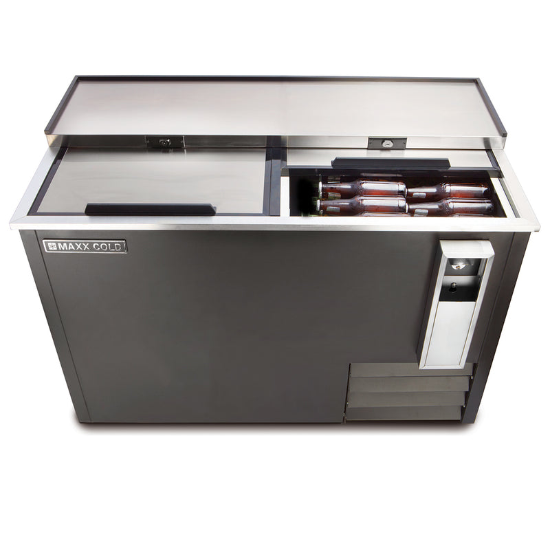 MXCR50BHC Horizontal Bottle Cooler