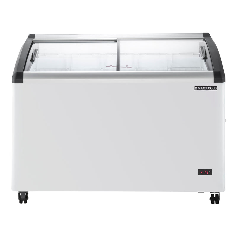MXF48CHC-5 Curved Top Display Chest Freezer