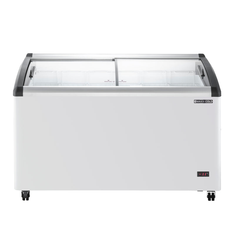 MXF54CHC-6 Curved Top Display Chest Freezer
