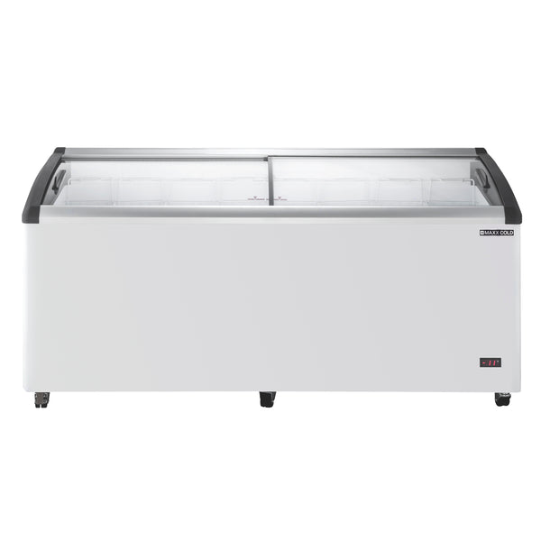 MXF72CHC-8 Chest Freezer Display, Curved Top