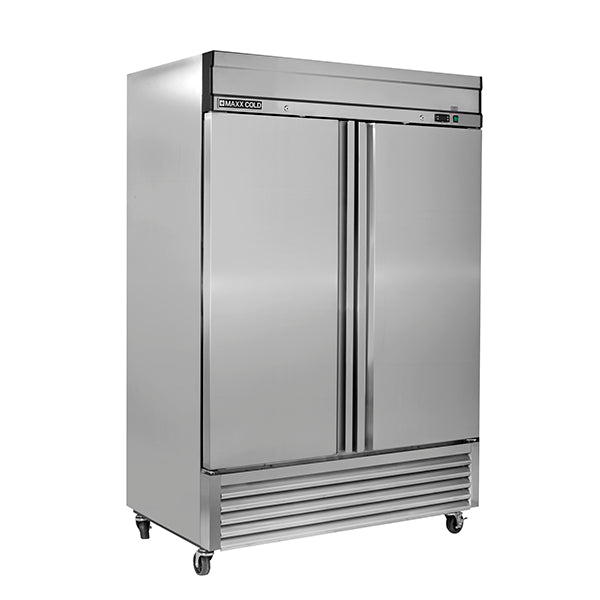 MXSF-49FDHC Reach-In Freezer, Double Door, Bottom Mount